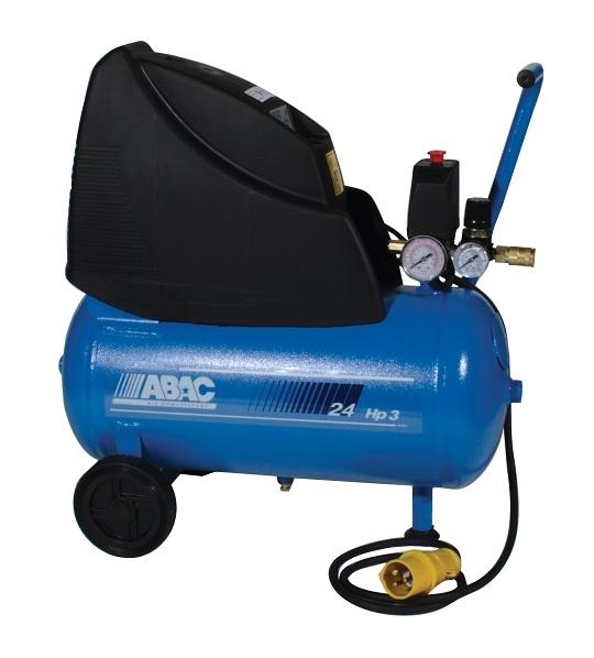 ABAC 110 Volt Tradeline 250/24 Direct Drive 2.5 HP 24 Litre Air Compressor