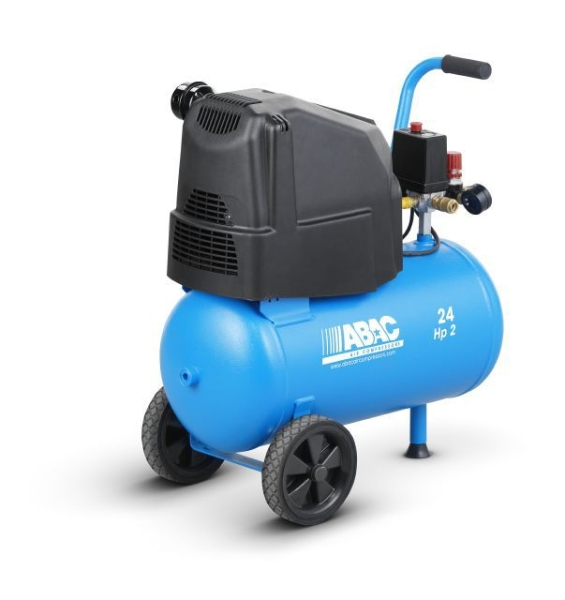 ABAC O20P Pole Position (OM231) Direct Drive Oil-Less 2HP 24 Litre Air Compressor