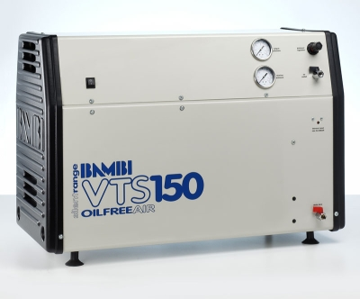 Bambi Oil-Free VTS150 Silent Air Compressor (23 Litres, 1.5 HP)